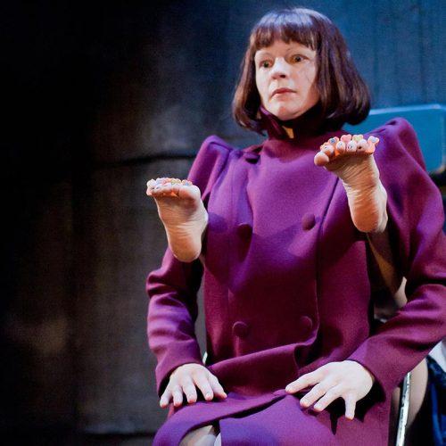 Hilda theatral show director Cilla Back